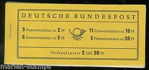 GERMANY-MICHEL-MH-2e-COMPLETE-UNEXPLODED-BOOKLET-MINT-NEVER-HINGED-AS-SHOWN