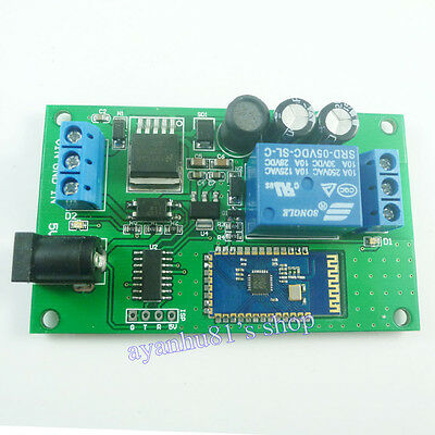 5V-24V Bluetooth Receiver Relay Module Android Mobile Remote Control Switch LED
