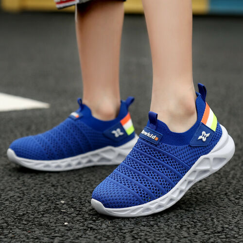 Boys Tennis Shoes Breathable Running Shoes Walking Shoes Sneakers Big Kids
