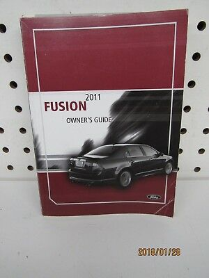 ford fusion owners manual book   shipping