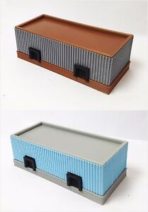 Outland Models Train Railway Layout Warehouse / Freight Station N Gauge 1:160