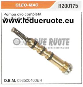 093500460BR POMPA OLIO COMPLETA MOTOSEGA OLEO MAC 935 HQ ORIGINALE