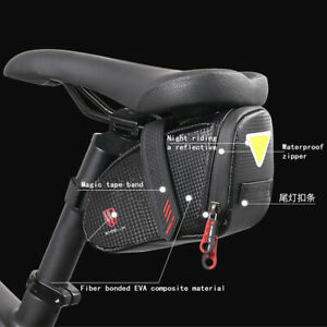 Bike-Bicycle-Saddle-Bag-Under-Seat-Storage-Tail-Pouch-Cycling-Rear-Pack