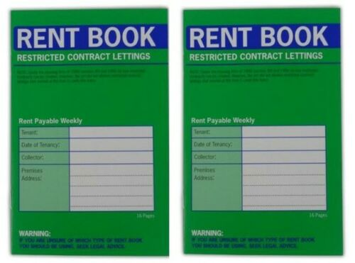 Rent Book County Stationers Restricted Contract Lettings