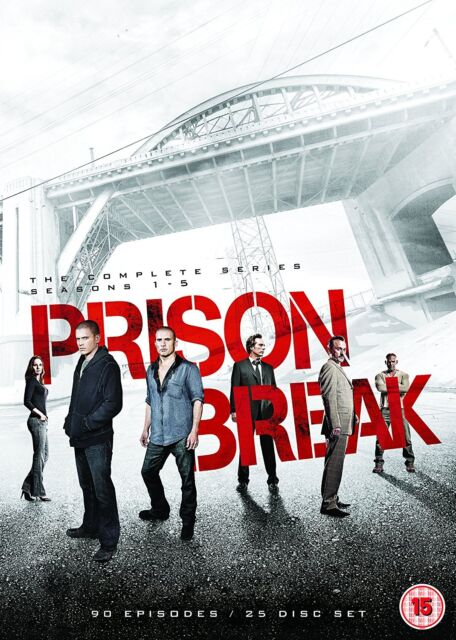 Prison Break Complete Season Series 1, 2, 3, 4 & 5 DVD Box Set New Sealed