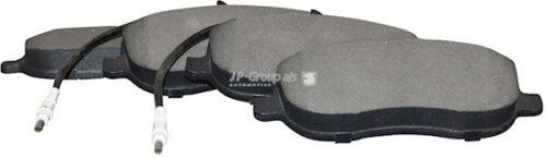 Bremsbelagsatz Scheibenbremse JP GROUP 4163601110 für SCUDO FIAT vorne Combinato