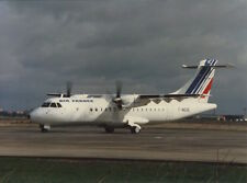 AIR FRANCE ATR-42 LARGE OFFICIAL PHOTO F-WEGE