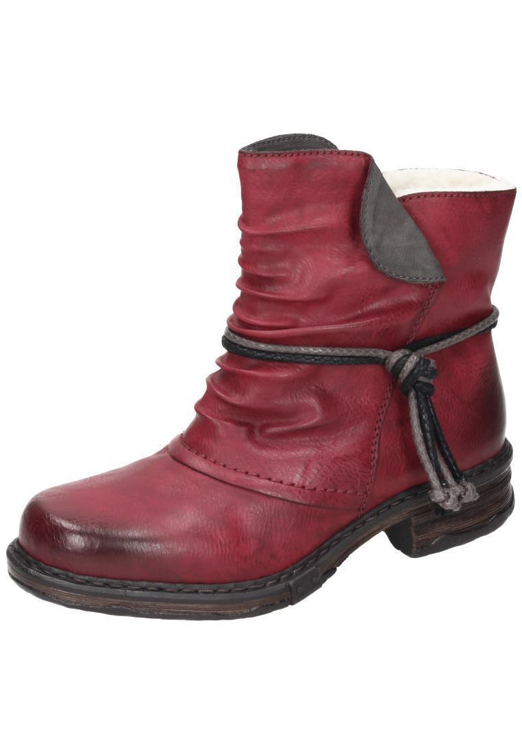 Rieker Z9961-35 Stiefel Stiefeletten Stiefel Damenschuhe rot Gr.36-42 Neu18