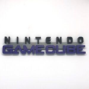 Nintendo-GameCube-Video-Game-System-Display-Sign-Custom-Made