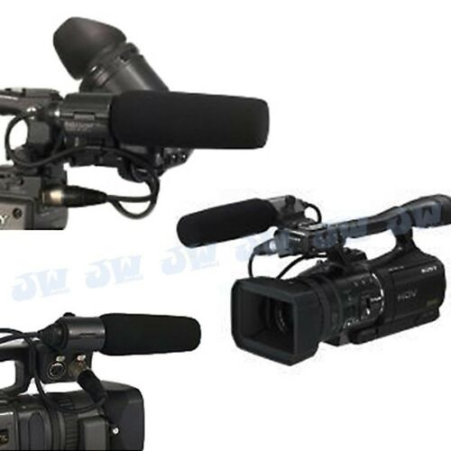 JJC micrófono para Sony ECM-NV1 DSR-250P HVR-Z1C Panasonic AJ-MC700P HMC-173MC