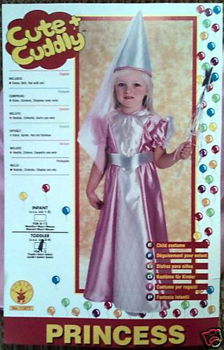 Halloween costume or a Princess themed birthday party