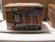 Mega Bloks Dragons War Chest # 9861 NEW SEALED
