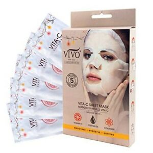Vivo-Per-Lei-Facial-Sheet-Masks-5-Single-Use-Masks-Per-Item-4-Varieties