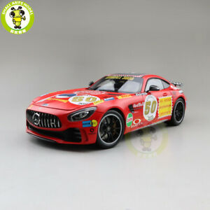1-18-Almost-Real-2017-Benz-AMG-GT-R-Diecast-Model-Car-Red