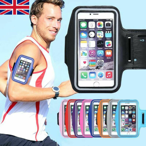 Sports Arm Band Mobile Phone Holder Bag Running Jogging Gym Armband Exercise