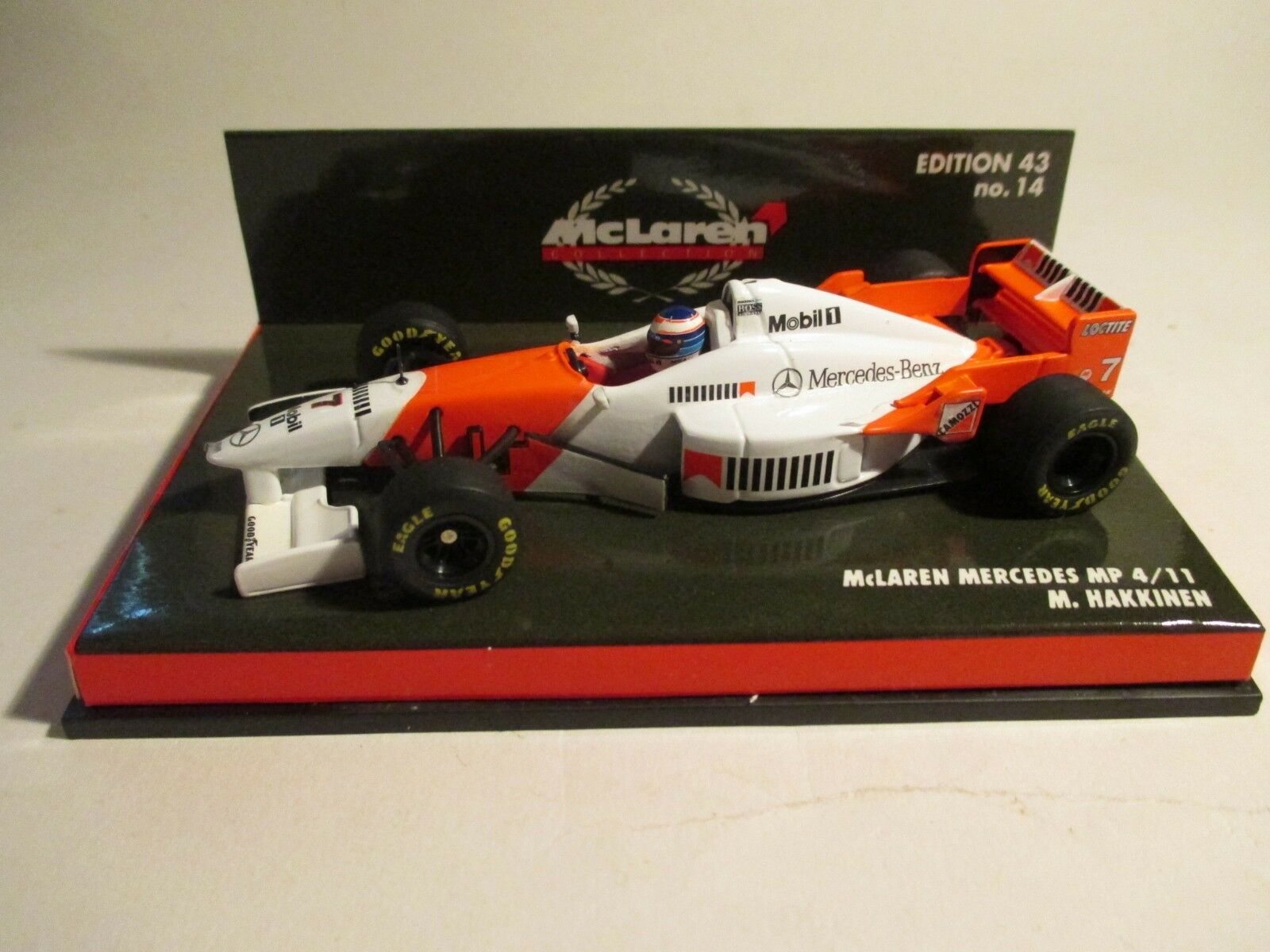Minichamps 530964307 McLaren Mercedes MP4 11 Hakkinen 1996 1 43 MIB