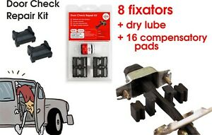 For Toyota Tundra I Door Check Repair Kit (4 doors) Stay Strap Stopper Replace