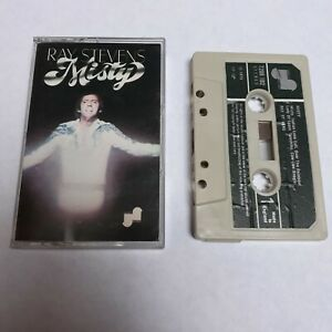 RAY STEVENS MISTY CASSETTE TAPE 1975 GREEN PAPER LABEL JANUS RECORDS UK