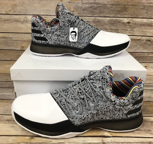 9d57275c3aff adidas Harden Vol 1 BHM Arthur Ashe Edition By3473 Size 16 for sale ...
