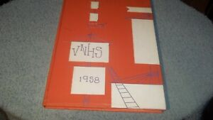 1958-VAN-NUYS-HIGH-SCHOOL-YEARBOOK-VAN-NUYS-CA-STACY-KEACH-JUNIOR
