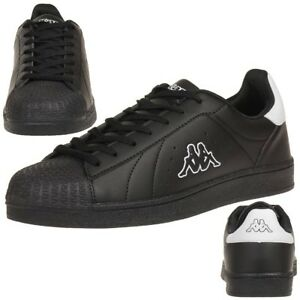 Kappa-Olymp-Trainers-Shoes-Women-039-s-Men-039-s-Sports-Shoes-Black