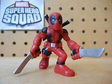 Marvel Super Hero Squad DEADPOOL w/ Swords from Wolverine Wave 1: Uncanny X-Men