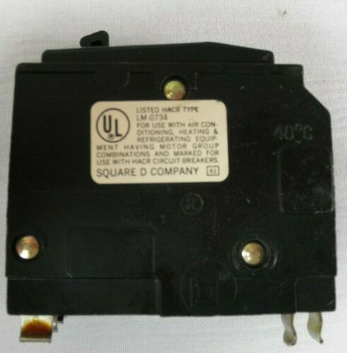 Lot of 3 Square D 30 amp HACR 2 pole 120//240 V Circuit Breakers LL-6994