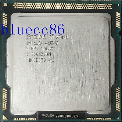 Intel Xeon X3480 SLBPT 3.06G LGA1156  Quad-Core Processor CPU