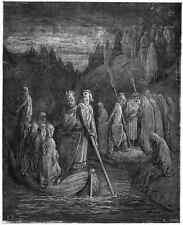 Gustave Dore gigantón Pantagruel 034 A4 Foto impresión