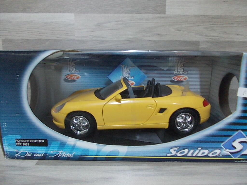 ventas en linea Solido 1 18 - Porsche Boxster amarillo amarillo amarillo  Tienda 2018