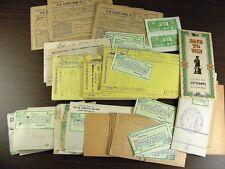 Pottsville 1910's mortgage coupons Washington Camp First Mort. Gold Bonds +s495