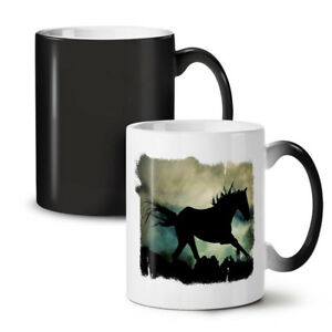 Wild Animal Horse Beast NEW Colour Changing Tea Coffee Mug 11 oz   Wellcoda