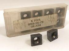 K Tool Speb 332 Cb New Carbide Inserts Grade A3m 10pcs