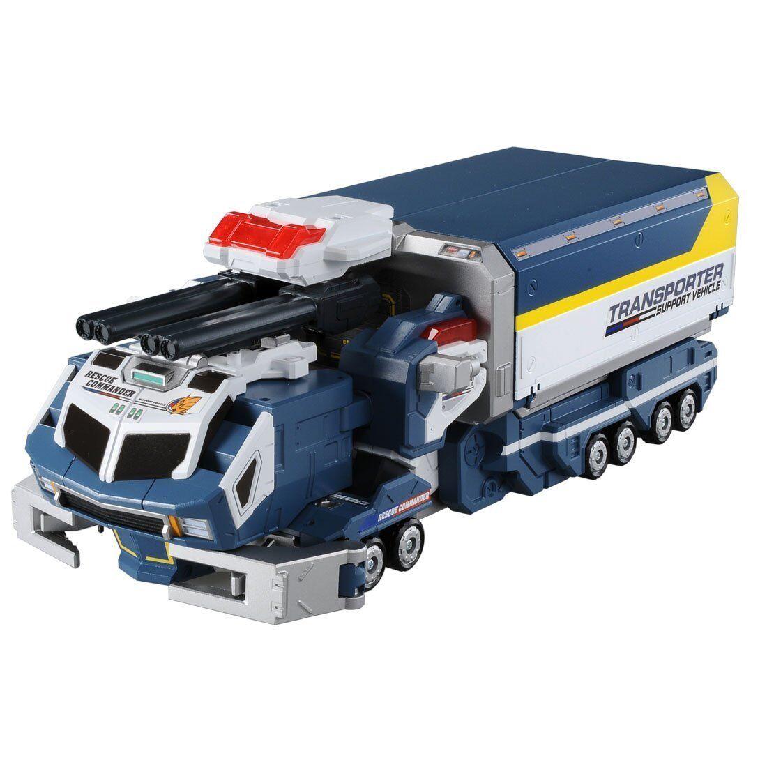Takara Tomy Tomica Hyper Rescue Drive Head Transporter Gaia Action Figure