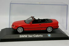 Minichamps 1/43 - BMW E36 serie 3 Cabriolet Rouge