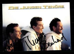 Die Jungen Tenöre Autogrammkarte Original Signiert ## Bc 117216 üBerlegene Materialien National