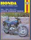 Honda 400 and 550 Fours Owner's Workshop Manual by John Witcomb (Paperback, 1988)