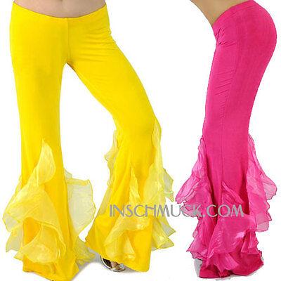 Acquista A Buon Mercato C51 Danza Del Ventre Pantaloni Tribal Fusion Belly Dance- Fornitura Sufficiente