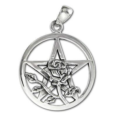 Moonlight Mysteries Sterling Silver Bunny Rabbit Pentacle Pentagram Pendant