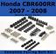 Complete-Fairing-Bolt-Kit-body-screws-for-Honda-CBR-600-RR-2007-2008-Stainless