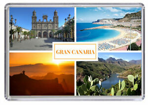 Kühlschrankmagnet Kreditkarte Gran Canaria.