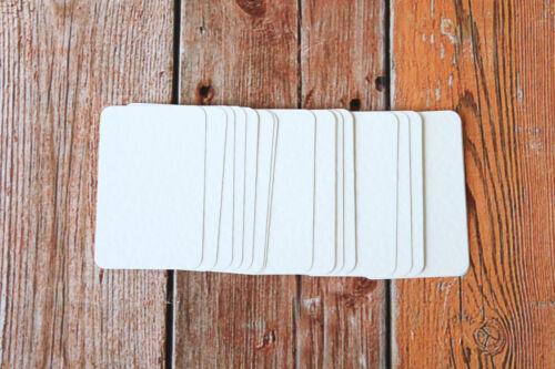 Martelé Mini cartes de visite 50pc Lakeland À faire soi-même Escort Cartes Craft ATC nom Cartes