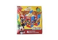 Disney Mickey Mouse Party- 4 Snack Boxes