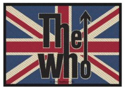 The Who patche officiel écusson licence patch à coudre Rock Uk Union jack