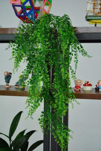 Fake Green Ivy Vine Hanging Plant Home Yard Balcony Wall Hang Art Decor Lifelike