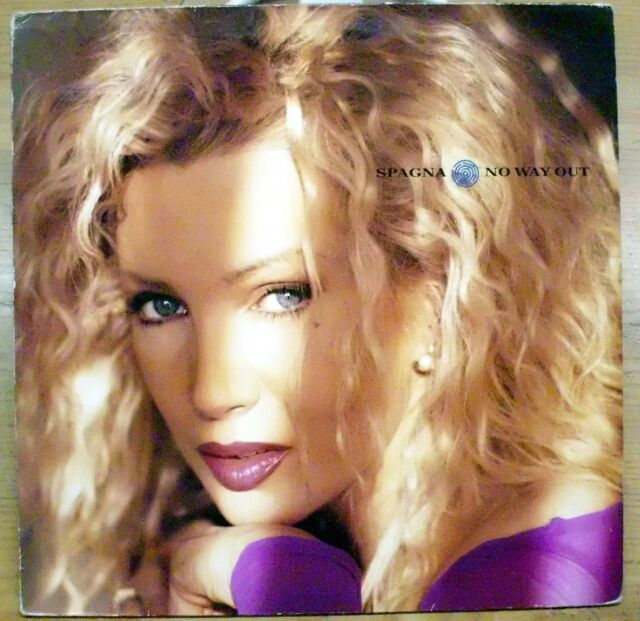 SPAGNA NO WAY OUT YOU BREAK INTO MY HEART I MISS YOU LP 1991 SONY ITALY MINT