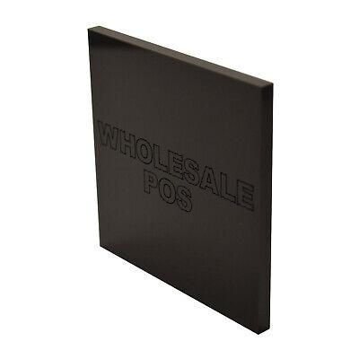 Black Acrylic Sheet Cut to Size Black Acrylic Perspex 5mm Thick Plastic Sheet