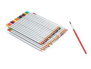 Ohuhu Assorted Colors Pencil Drawing Watercolor Pencils Case Set of 36 Colors