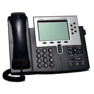 Details about SIP Firmware Cisco 7961 CP-7961G VoIP PoE Business Phone w/  Handset