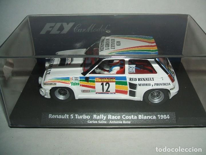 Fly A-1203 Renault 5 Turbo Sainz - Boto 1984